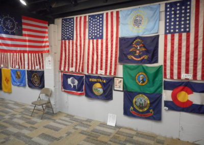 USA and State Flag Exhibit