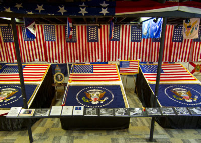 2012 Eisenhower Flag Exhibit